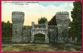 Chattanooga Tennessee Gate Point Pk Lookout Mtn Tn - $8.00