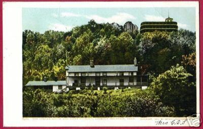 LOOKOUT MOUNTAIN TENNESSEE Craven House Point UDB 1906