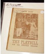 Carol Bruce autograph Show Boat playbill ziegfeld theater 1046 - $19.99