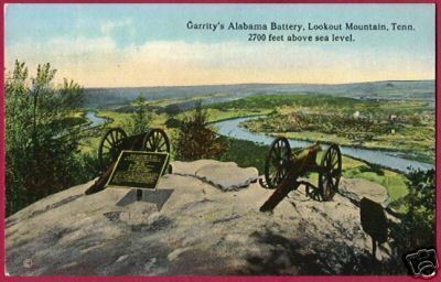 Primary image for CHATTANOOGA TENNESSEE Garrity's Alabama Lookout Mtn