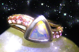 HAUNTED RING WEALTH  MODIFIER CHANGE YOUR LEVEL OF WEALTH  SECRET OOAK MAGICK - $4,518.89
