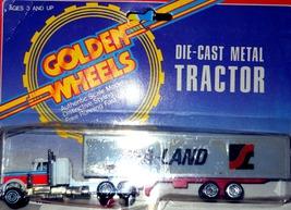 Golden Wheels Tractor Trailer (Sea-Land) - $9.95