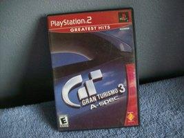 GAME DISC Gran Turismo 3  ps2 - $3.99