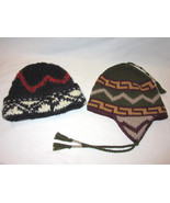 2 Lot American Eagle Outfitters Wool Blend Yarn Fair Isle Nordic Thick H... - $64.93