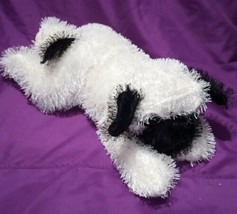 Stuff/Plush Animal, Peek-a-boo Toys, White And Black 15in Dog, NM - $5.99