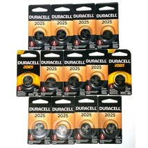 Lot of 13: NEW and Sealed Duracell 2025 DL2025 CR2025 Coin Cell Button Battery - $18.88