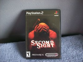 Game Disc Second Sight   PS2 - $4.99