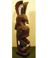 Small Totem Pole by Cicero August Cowichan Band BC - $175.99