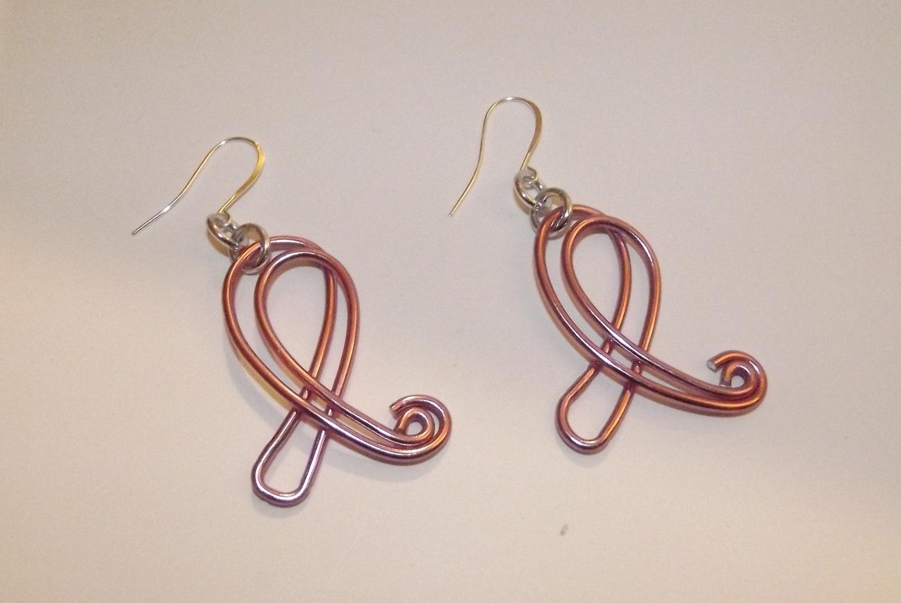 Awareness Ribbon Earrings