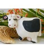 Vintage Cow Figurine Artesania Rinconada Holste... - $17.95