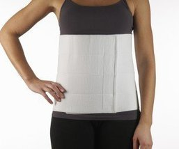"Corflex Abdominal Support Binder-2XL-12"" - White - $36.69"