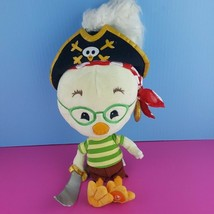 "Disney Store 18"" Chicken Little Pirate Plush Doll Stuffed  - $64.35"