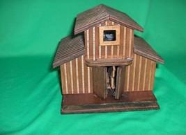 Estate Wooden Barn Horse Music Box - $25.00