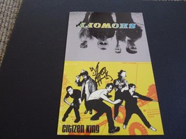 Citizen King DJ Brooks Signed Autograph 5.5x8.5 Promo Card Photo PSA Gua... - $9.99