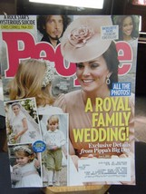 People Magazine - Royal Family Wedding Cover - June 5, 2017 - $5.93