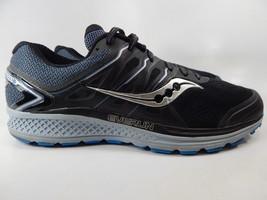 Saucony Omni 16 Size US 11.5 M (D) EU 46 Men's Running Shoes Black Blue S20370-4