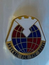 US Military Material Command Insignia Pin - Arsenal for the Brave - $10.00