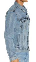 Levi's Men's Cotton Button Up Denim Jeans Trucker Jacket Light Blue 723340232 image 4