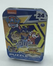 NEW Paw Patrol Puzzle 24 Piecein Tin - $9.89