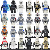 24 Types Troopers Star Wars Shock Snow Sand Death Sith Storm trooper Minifigures - $39.99