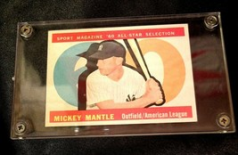 Mickey Mantle Baseball Trading Card # 563 AA19-BTC4001 Vintage Collectible