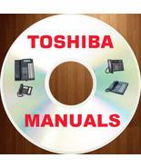 TOSHIBA Phone Telecom SYSTEM Strata DK Stratagy User Install Manual MANU... - $11.89