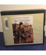 VINTAGE AUDIOBOOK CD BOOK IN BOX CASE WILL SPARROWS ROAD KAREN CUSHMAN K... - $14.85