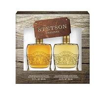 Stetson Original 2-Piece Decanter Set with 2-Ounce Cologne and 2-Ounce A... - $38.56