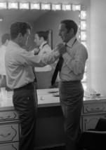 Art Print POSTER Regis Philbin Fixing Joey Bishop's Tie - $3.95+