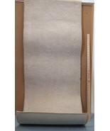 "Carpet Rug Runner Rectangle Tan Color Binded Edges 24"" Wide x 71"" Long - $13.85"