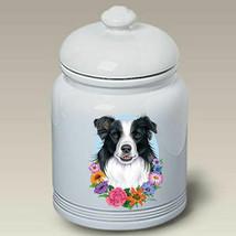Border Collie Treat Jar - $44.95
