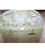 Beansprout Bella Musical Mobile Nursery Decor White Eyelet Butterflies &... - $42.00