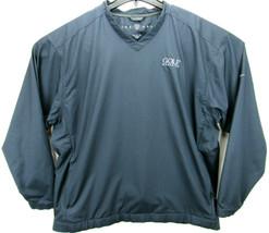 Nike Golf Men's Size XL Golf Pullover Windbreaker Jacket Windshirt Golf ... - $28.75