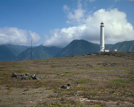 Moloka'i Light Station lighthouse Molokai Island Hawaii Photo Print - $7.05+