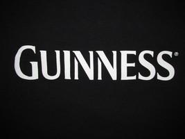 Guinness Extra Stout Paint The Town Black T Shirt Sz XL Irish Beer Lager Bar Pub - $11.99