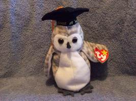 TY Beanie Baby - WISER the 1999 Owl - $5.00