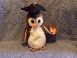 Wise The Owl Class Of 98 Ty Beanie Baby Retired 1999 - $5.00