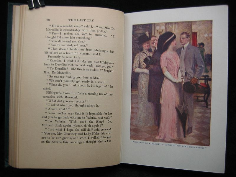 The Last Try by John Reed Scott 1912 J.B. Lippincott