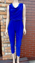 Blue jumpsuit Size S/M Made in Italy - $25.00