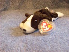 Bruno The Dog Ty Beanie Baby Retired 1998 - $5.00