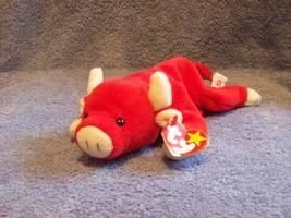 Ty Snort the Red Bull Beanie Baby 1997-1998 - $5.00