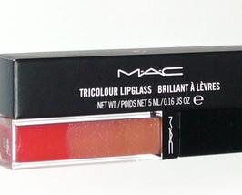 MAC Cosmetics Lipglass Lip Gloss Tricolour Simply Delicious - $17.95