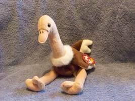 Stretch The Ostrich Ty Beanie Baby Retired 1999 - $5.00