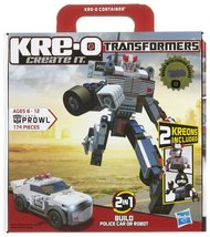 Kre-O Transformers Prowl Set 174 Pieces Hasbro Police Car Robot Building... - $16.98
