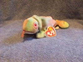 Rainbow The Tie Dyed Chameleon Ty Beanie Baby Retired 1998 - $5.00