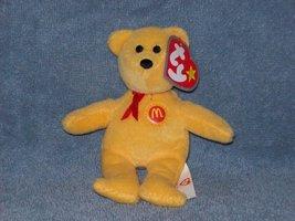 McDonald's 2004 Teenie Beanie Babies - Golden Arches the Bea - $3.50