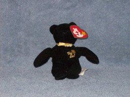 the end bear teenie beanie baby - $3.50