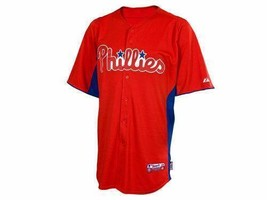 NEW!** Philadelphia Phillies Batting Practice Authentic Performance Jersey LG. - $39.60