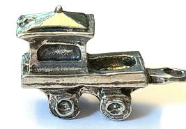 CABOOSE CAR FIGURINE CAST WITH FINE PEWTER - Approx. 1 inch Long  (T159) image 4