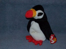 Puffer the puffin, Ty Beanie Baby - Retired - $5.00